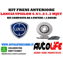 Kit Freni Lancia Ypsilon 0.9 (2011)