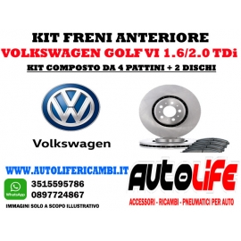 Kit Freni Volkswagen Golf VI 2.0 TDi