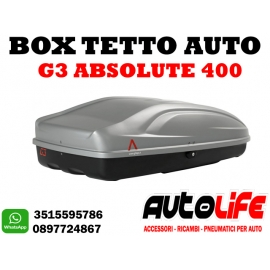 Box tetto auto portatutto G3 Absolute 400