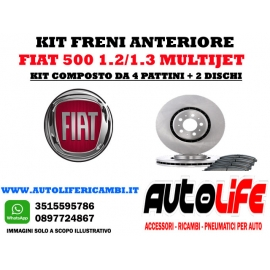 Kit Freni Fiat 500 1.3 Multijet (2008)