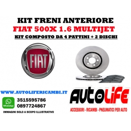 Kit Freni Fiat 500X 1.6 Multijet