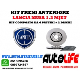 Kit Freni LanciaMusa 1.3